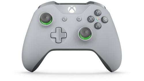 Control Microsoft Inalámbrico Xbox One Gris Verde