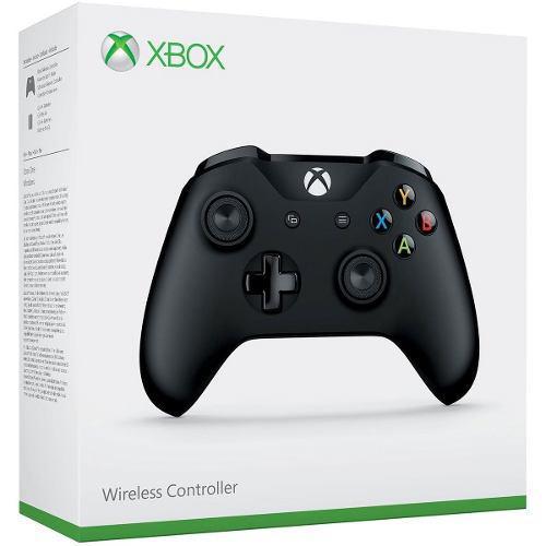 Control Para Xbox One Negro Inalámbrico Original (d3