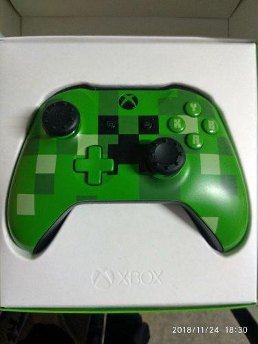 Control Xbox One S Creeper Verde Usado