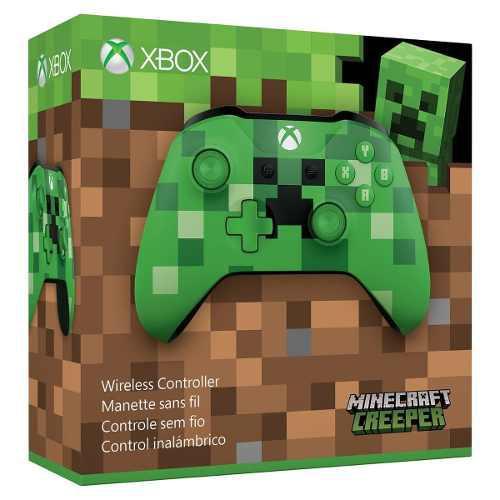 Control Xbox One S Original Inalambrico Minecraft Nuevo