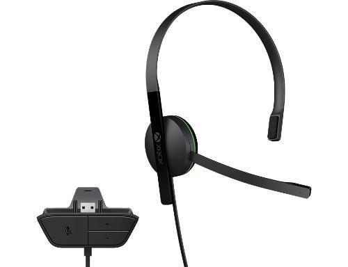 Diadema Para Xbox One Microsoft Original Chat Headset Nuevo