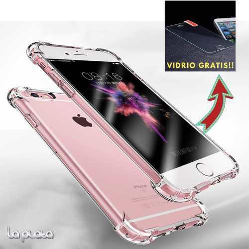 Funda Case Transparente Antishock Iphone 6/6s, 7 8 Plus X