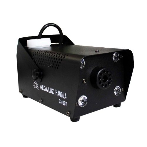 Maquina De Humo 400w Control Alambrico 4 Led Rgb