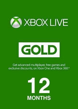 Membresía Xbox Live 12 Meses Código Mas Regalo Descuento