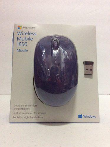 Mouse Ratón Inalámbrico Óptico Microsoft Para Pc A Ymac