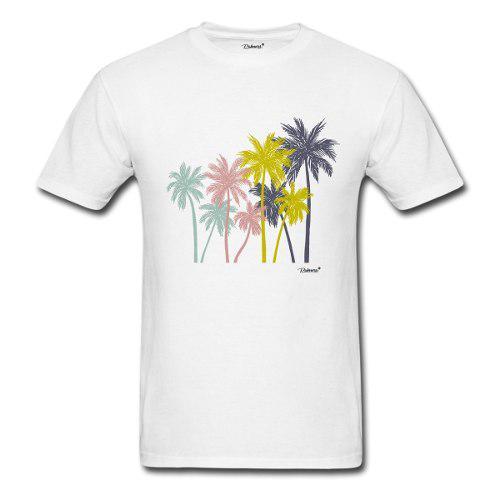 Playera Para Caballero Estampado Palm Trees Marca Palmers