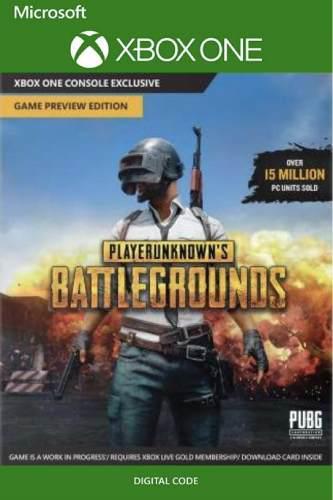 Playerunknown's Battlegrounds(pubg) Xbox One Codigo
