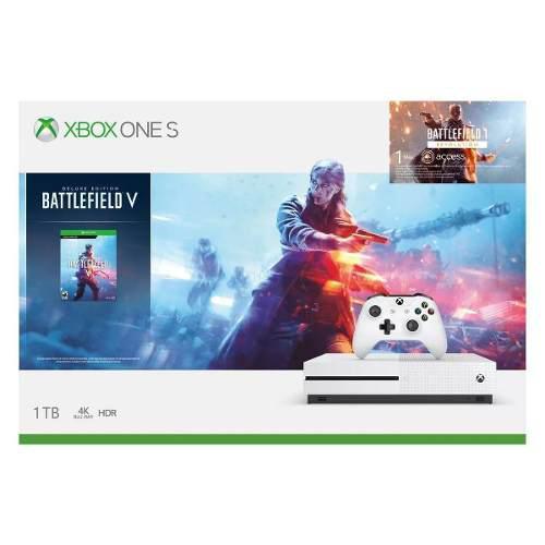 Promo Buen Fin!! Xbox One S Sellado 1tb Battlefield V