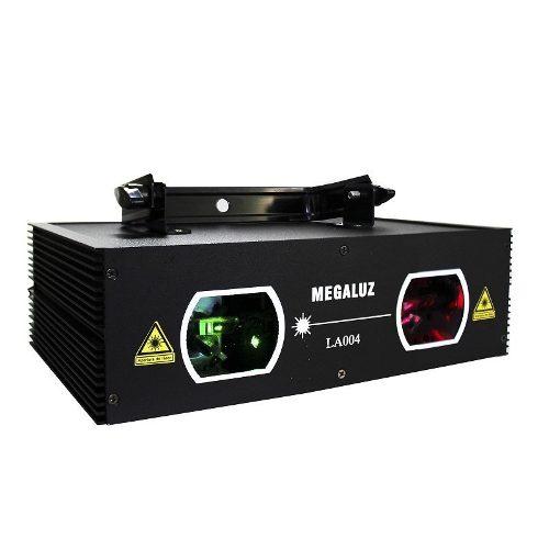 Proyector Laser Patrones Geometricos Verde Y Rojo Dmx