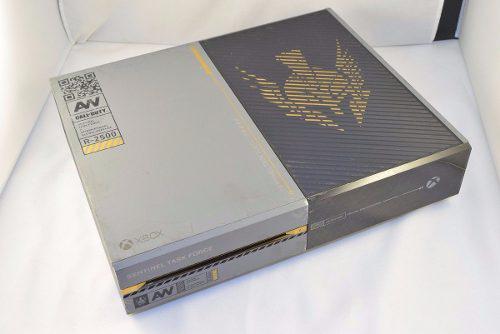 Solamente Consola De Xbox One Advanced Warfare Blakhelmet