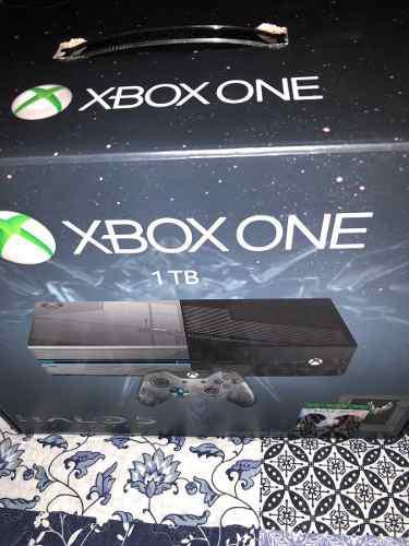 Xbox One Edicion Limitada Halo 5 Nueva Codigos Sin Usar