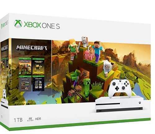 Xbox One S 1 Tb + Minecraft Holiday Bundle Edition