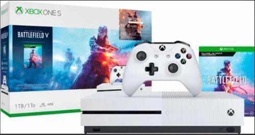 Xbox One S 1 Terabyte Incluye Battlefield V Para Descarga