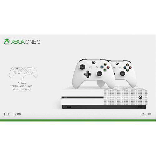 Xbox One S 1tb + 2 Controles Inalámbricos + 14 Dias