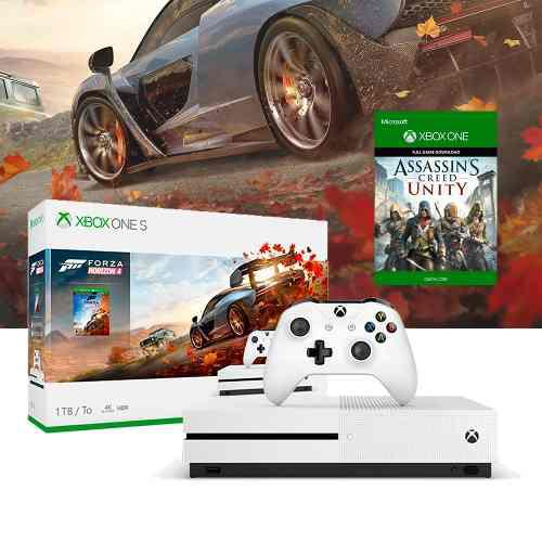 Xbox One S 1tb 4k / Forza Horizon 4 / Regalo Assasins Creed