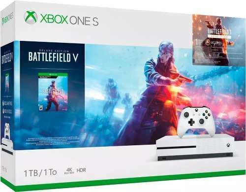 Xbox One S 1tb Capacidad + Battlefield V Envio Gratis