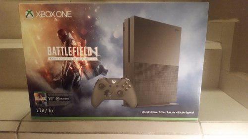 Xbox One S 1tb Con Battlefield 1