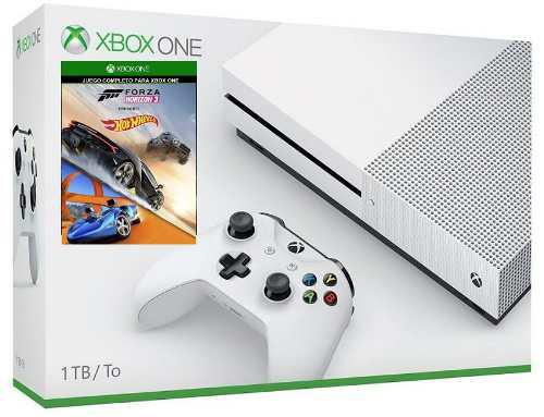 Xbox One S 1tb Con Hot Wheels Y Forza Horizon 3 A Msi