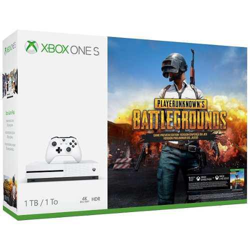 Xbox One S 1tb Console Playerunknowns Battlegrounds Bundl