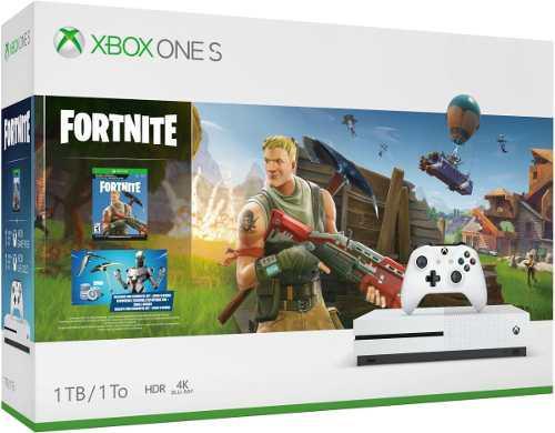 Xbox One S 1tb Edicion Fortnite, Envio Express Gratis!