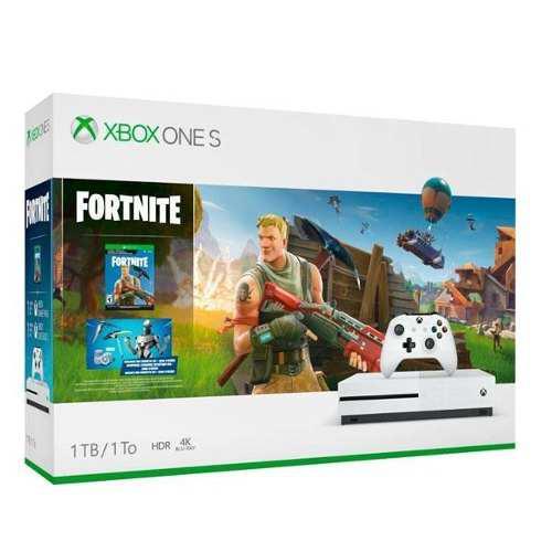 Xbox One S 1tb Fortnite Bundle Totalmente Nuevo