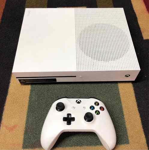 Xbox One S 500 Gb 4k Realmente Con Muy Poco Uso