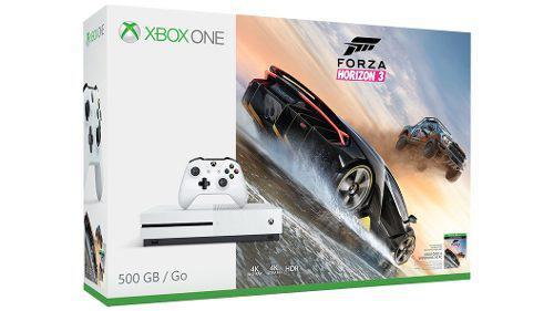 Xbox One S 500 Gb Forza Horizon 3 Nuevo Sellado
