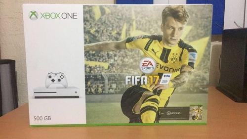 Xbox One S 500gb C/ Fifa 17 Nuevo- Garantia - Envio Gratis!!
