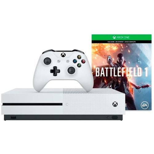 Xbox One S Consola 500 Gb Bundle Battlefield Blanco