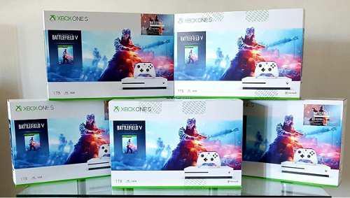 Xbox One S Consola De 1 Tb Battlefield V Deluxe Edition