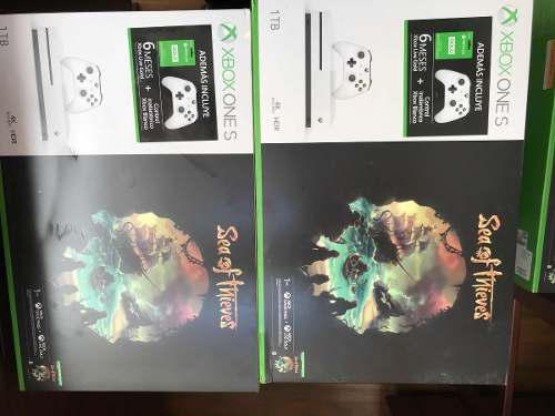 Xbox One S De 1 Tera + Control Extra Y 6 Meses De Xbox Live