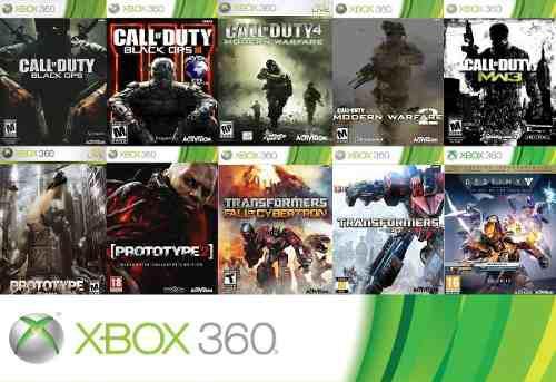 o Paquete De Juegos Xbox 360 Contenido Digital