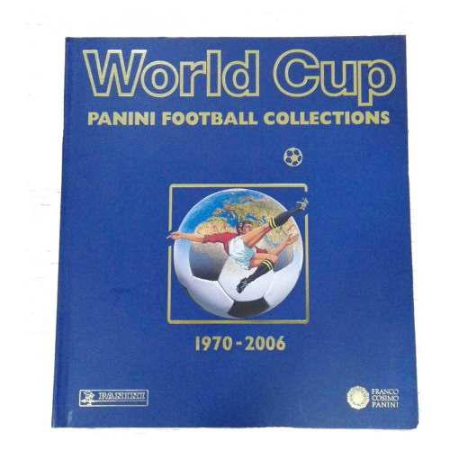 Album Coleccion World Cup 1970 - 2006 Panini Bh Trade Market