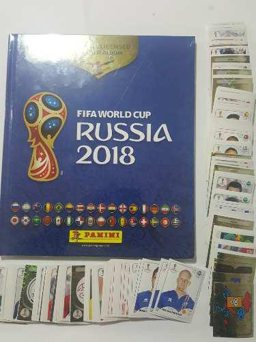 Album Pasta Dura+ 100 Estampas Fifa Wold Cup Russia 2018+dhl