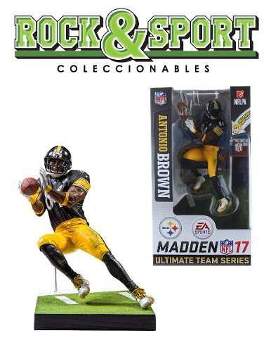 Antonio Brown Madden 17 Nfl Mcfarlane Pittsburgh Steelers