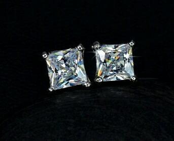 Aretes Para Niña Finos Zirconia Calidad Diamante.