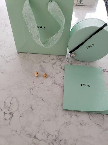Aretes Tous Oro Tous 18k 100% Tous Tiffany &co Tous T&co Ch