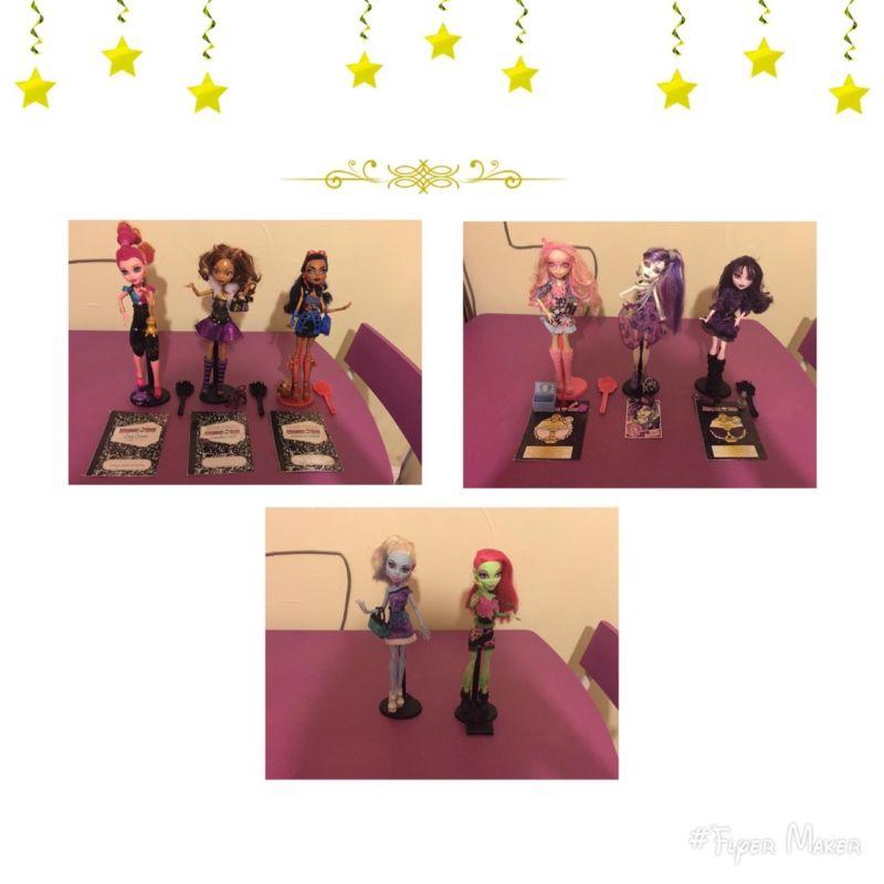 Colección de muñecas y accesorios Monster High