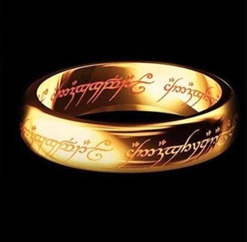Collar Anillo Lord Of The Rings Señor De Los Anillos