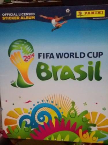 Estampas Brasil 2014 Album Panini Fifa World Cup