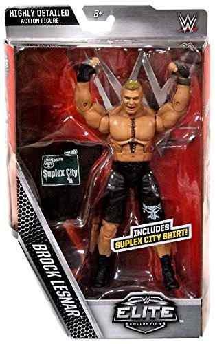Figura Mattel Wwe Elite Collection Brock Lesnar Acción
