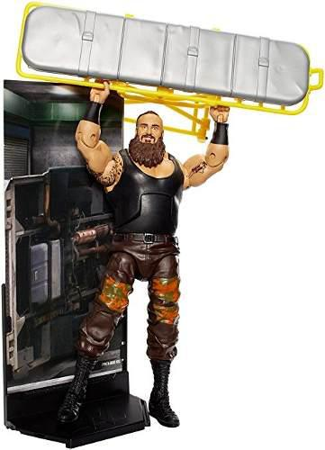 Figura Wwe Elite Collection Braun Strowman Acción