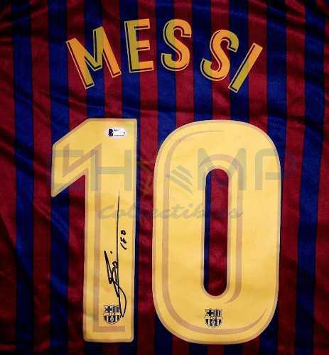 Jersey Firmado Lionel Messi Barcelona 2018-19 Nike Autografo