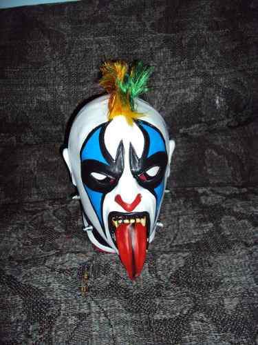 Mascara Luchador Psycho Clown Modelo Clasico Envio Gratis