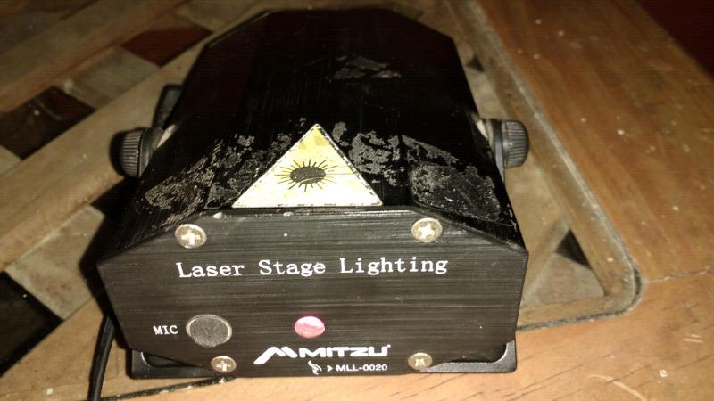 Mini lazer mitzu