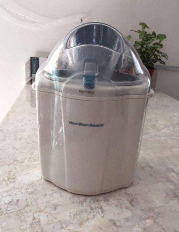 Máquina para hacer helados hamilton beach