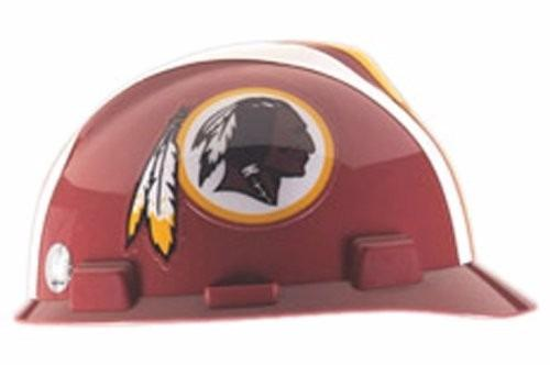Nfl Casco De Seguridad Msa Safety Works Washington Redskins