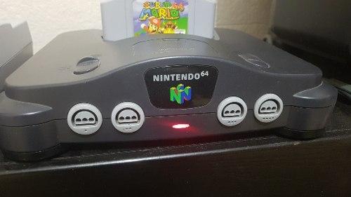 Nintendo 64 Con 5 Juegos Y Accesorios. El Mejor Precio.
