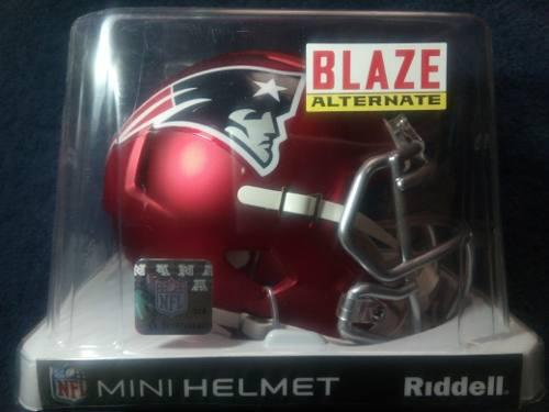 Oferta! Nfl Mini Casco Blaze Edition New England Patriots