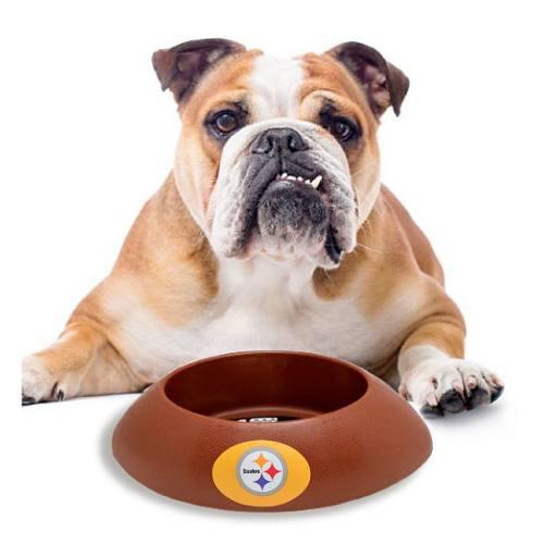 Plato Mascota Nfl Colección Pittsburgh Steelers Acereros